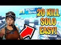 Download How to get a 20 KILL Solo Win EASY! How to Win Fortnite Solo! (Xbox/Ps4 Fortnite Tips)