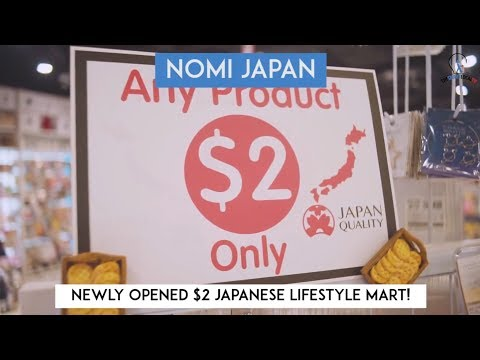 Nomi Japan - $2 Japanese Lifestyle Mart!