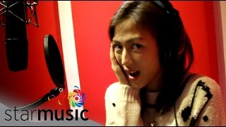 ALEX GONZAGA - Panaginip Lang (Recording Session)