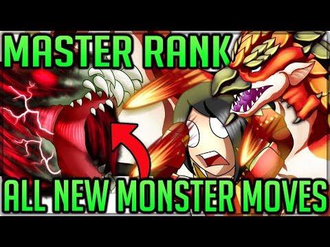 All Monster New Moves + Mechanics in Master Rank - Monster Hunter World Iceborne! (Worrying) #mhw |