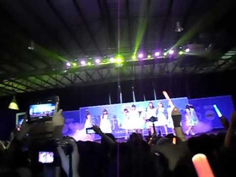 [FANCAM] Gingham check single 6th JKT48 - Flying get Handshake Festival