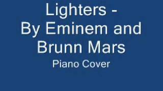 Lighters - Eminem ft. Bruno Mars (piano cover)