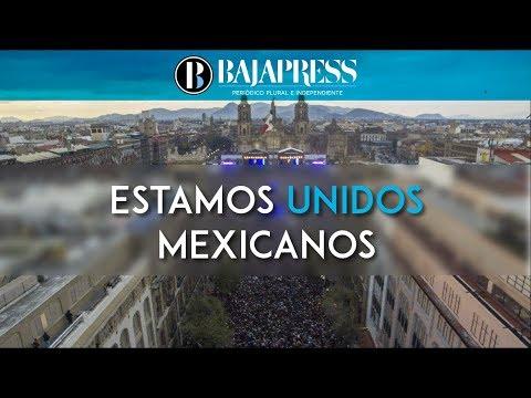 Estamos Unidos Mexicanos  un concierto de unidad y apoyo a los damnificados