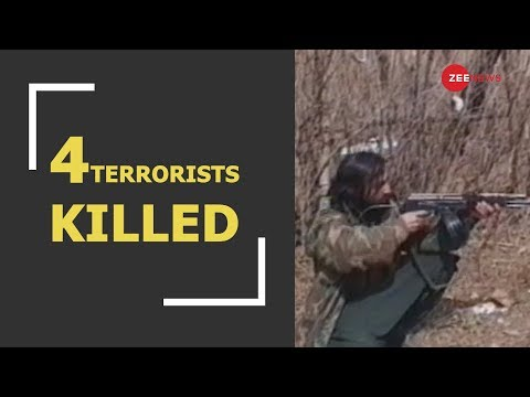 BREAKING: Four Terrorists Killed In Jammu And Kashmir's Anantnag Encounter