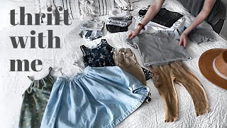 Thrifting My Kid's Wardrobes | AND Try On Haul W/ Closet Organization!