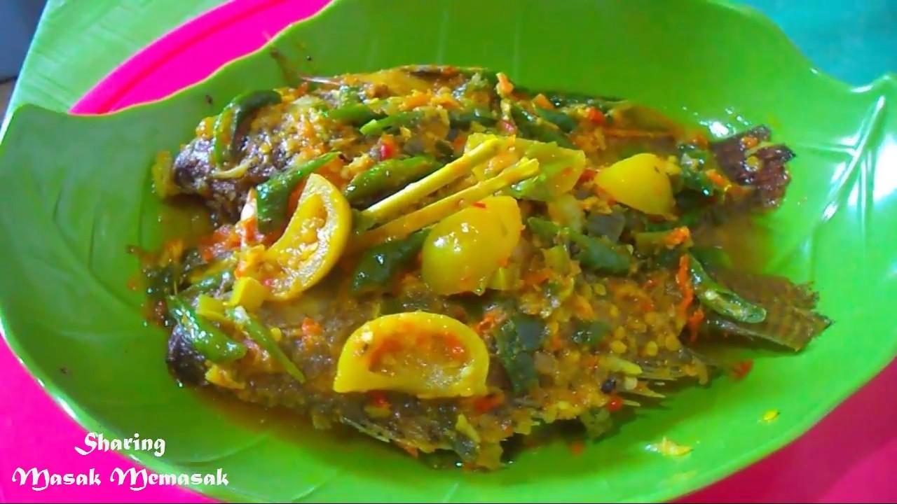 Ini rahasia Resep membuat Pasmol Ikan Mujair Yang enak dan Lezat