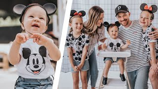 THEOS 1st Mickey Mouse BIRTHDAY PARTY Special