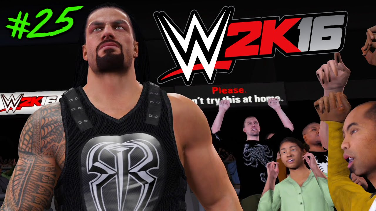 wwe 2k16 auf rille zum titel 25 facecam es wird schwer youtube. Black Bedroom Furniture Sets. Home Design Ideas