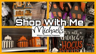 Halloween Decor At Micheals Shop With Me August 2019