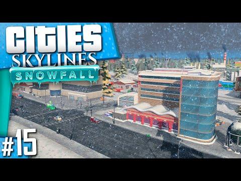 Cities: Skylines Snowfall | Part 15
