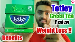 Tetley green tea review || Weight loss, Benefits, Price, How to use, Everything