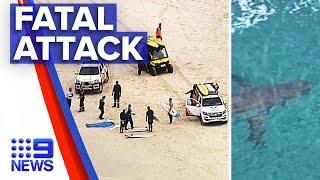 15 year old boy dies after shark attack | 9 News Australia