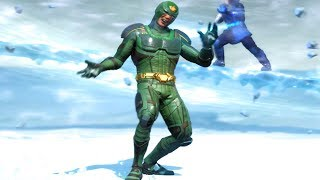 Injustice 2 All Super Moves on Atom DeVoe Alternate (No HUD) Skin/Shader Showcase 4K UHD 2160p