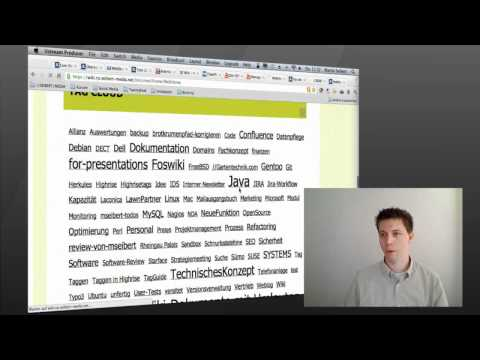 Confluence 4.0 vs.  Foswiki 1.1  - Aktuelle Firmenwikis im Vergleich
