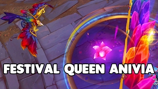 lol festival queen anivia league of legends