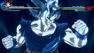 DRAGON BALL XENOVERSE 2 Goku ultra Instinc vs Vegeta Ultra - Jiren  mods