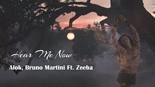 Baixar Hear Me Now - Alok, Bruno Martini - Ft. Zeeba (tradução)HD