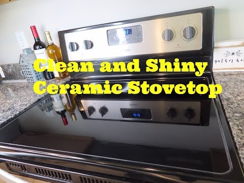 How To Clean A Ceramic Stovetop