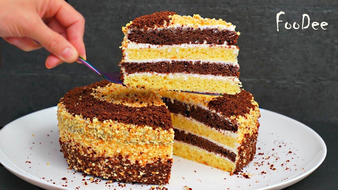 Торт Сметанник – мой ЛЮБИМЫЙ рецепт – ОЧЕНЬ вкусный домашний торт из простых продуктов!