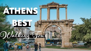 The Best Walking Tour Of Athens Greece | Ancient Ruins Of Athens | FAMILY TRAVEL VLOG