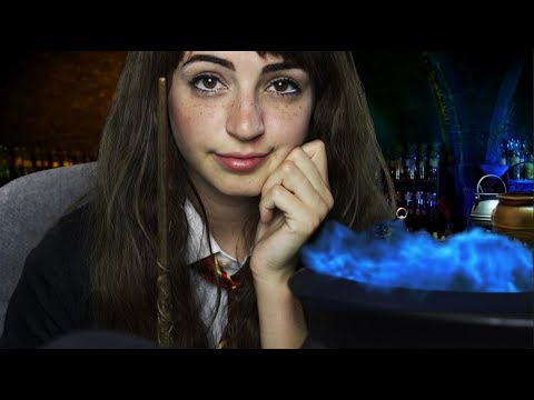 [ASMR] Hermione's Potion Roleplay (Special FX, Ambiance) (You Are Harry Potter!)