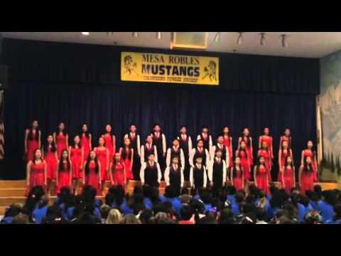 Mesa Robles Xmas Assembly 2015