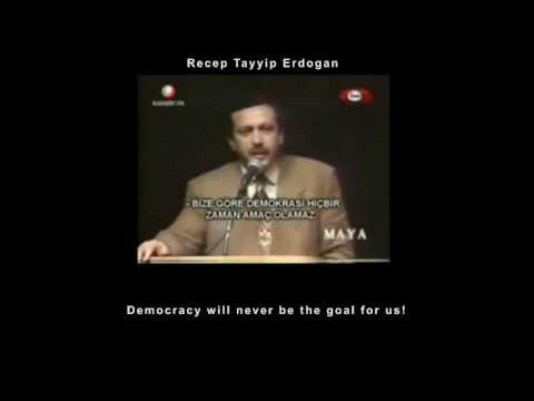 Recep Tayyip Erdogan democracy in his own words