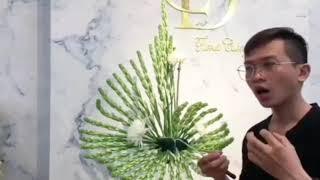 Hướng dẫn cắm hoa huệ - dòng hoa văn tâm linh (tập 6)