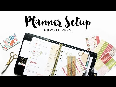 2017 Planner Setup | inkWELL Press + kikki.K