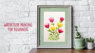 Easy Watercolor Painting For Beginners