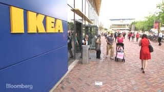 Ikea's Big Bet on Stores Without Parking Lots