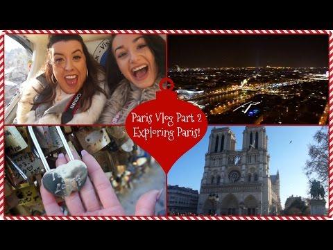PARIS VLOG! Part 2   Exploring Paris Ft Tarlia! | LAURA ANN