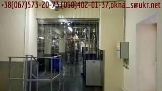Звукоизоляционная прозрачная термо завеса-штора из гибких лент как силикон на раздвижном карнизе(Продажа(купить), изготовление ленточных тепловых ПВХ завес, энергосберегающих термоштор-жалюзи производс..., 2016-06-28T19:29:22.000Z)