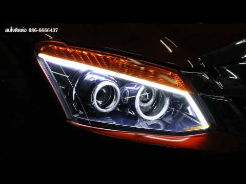 ISUZU D'max Super Daylight 2014 แต่งสวย ไฟหน้า PROJECTOR HID