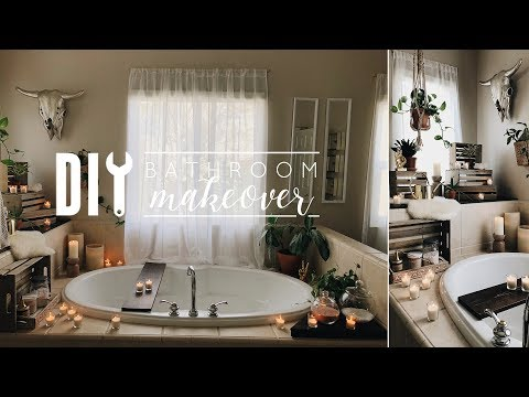 Easy DIY Bathroom Makeover