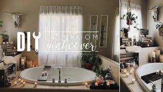 Easy DIY Bathroom Makeover
