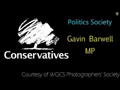 Politics Society: Gavin Barwell MP