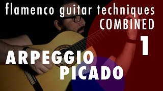 01 - Arpeggio & Picado: Flamenco Guitar Techniques Combined