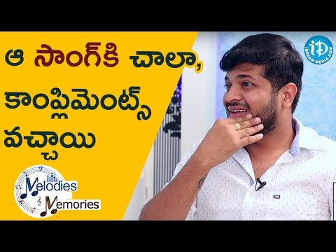 Anudeep Dev About His Favourite Song    Melodies And Memories