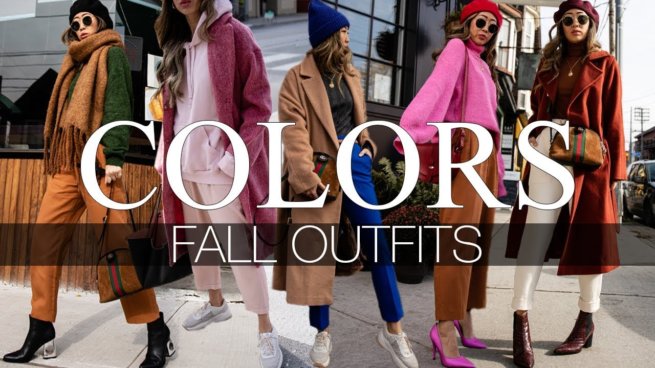 COLORS | FALL OUTFITS 7