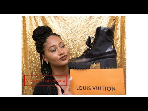 Louis Vuitton Desert Boot + LV Bandeau Review