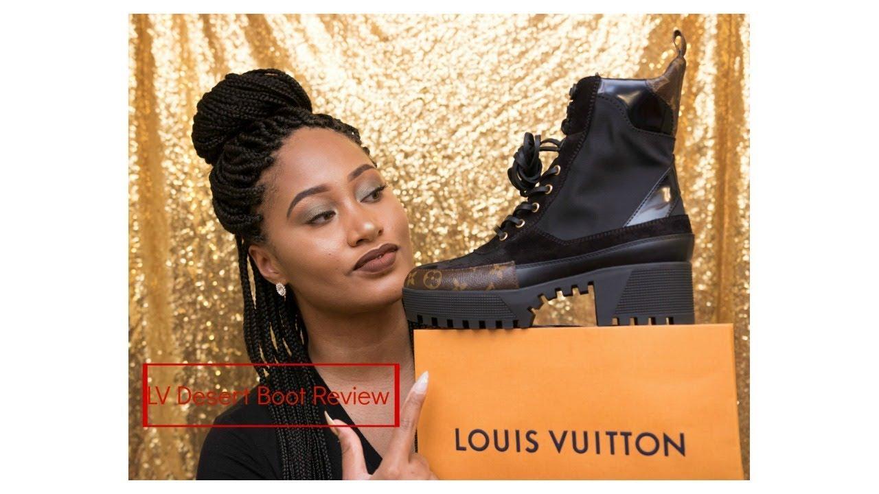 Louis Vuitton Desert Boot + LV Bandeau