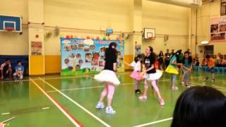 東華三院鄧肇堅小學體藝日花式跳繩表演2014