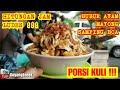 DASYAT !!! BUBUR AYAM BCA PORSI KULI HABIS TERJUAL HITUNGAN JAM!!!JAKARTA STREET FOOD