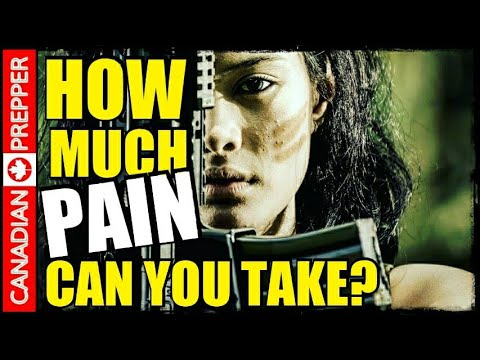Pain Threshold and Survival: Why Many Won't Last Long