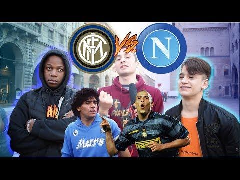 Inter VS Napoli - BOTTA E RISPOSTA Tra Tifosi ● INTERISTA vs NAPOLETANO