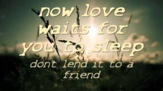 The Black Heart Procession - A Cry For Love Lyrics