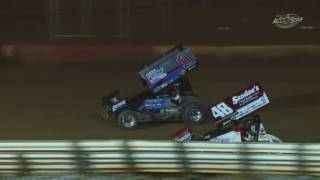 Lincoln Speedway All Star Sprint Car Highlights