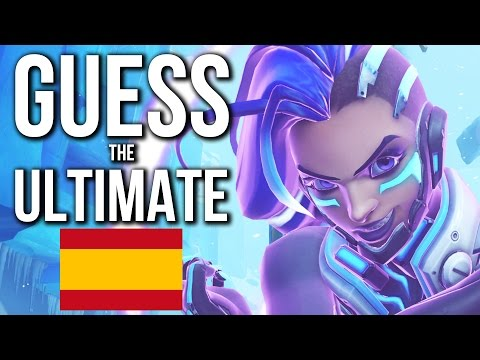 Overwatch Quiz - GUESS the ULTIMATE | Spanish Edition