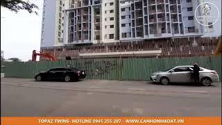 Cập nhật căn hộ Topaz Twins Biên Hòa - Ngày 18-08-2020 - Đang thi công phần cảnh quan